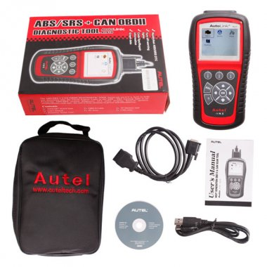 Autel AutoLink AL619 OBDII CAN ABS And SRS Scan Tool