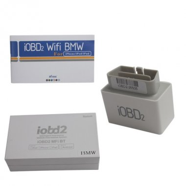 iOBD2 BMW Diagnostic Tool for iPhone/iPad BY Bluetooth