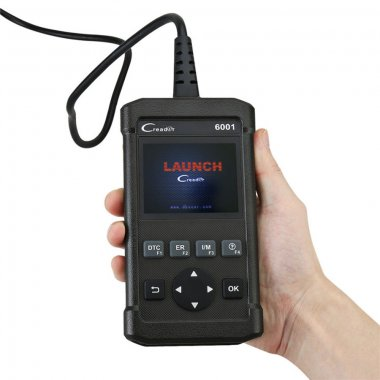 Launch CReader 6001 Support O2 Sensor Test