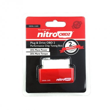 NitroOBD2 Plug and Drive Chip Tuning Box for diesel Cars