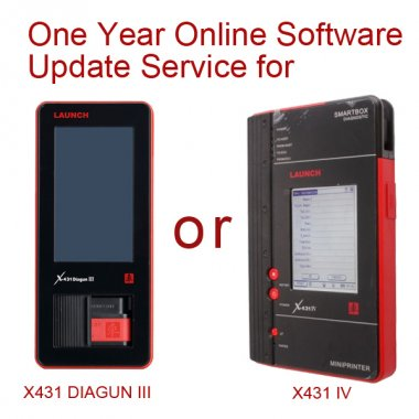 Launch x431 One year Update Renew