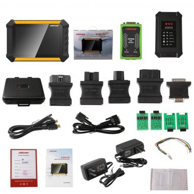 OBDSTAR X300 DP PAD Tablet Key Programmer Full Configuration