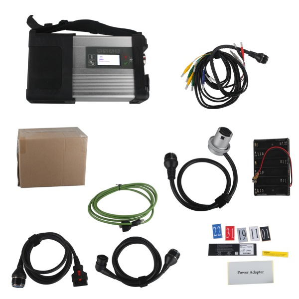 MB SD Connect C5 Star Diagnosis with WIFI for Cars and Trucks DD009